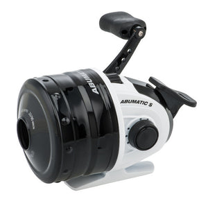 Abu Garcia Abumatic S Spincast Reel 15, 5.2:1 Gear Ratio, 2 Bearings, 28