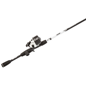 Abu Garcia Abumatic S Spincast Combo 10, 4.3:1 Gear Ratio, 2 Bearings, 6' 2pc Rod, 6-12 lb Line Rate, Ambidextrous