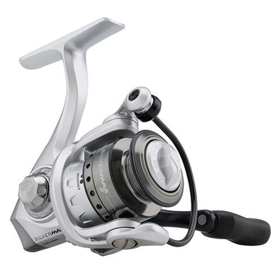 Abu Garcia Silver Max Spinning Reel 10, 5.2:1 Gear Ratio, 6 Bearings, 21
