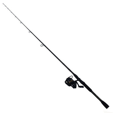 Abu Garcia Pro Max Spinning Combo 30, 5.1:1 Gear Ratio, 7' Length, 1 Piece Rod, 6-12 lb Line Rate, Medium Power