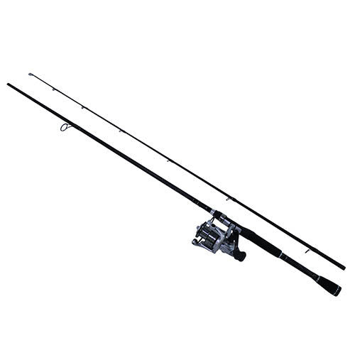 Abu Garcia Silver Max Spinning Combo 40, 5.1:1 Gear Ratio, 7' Length, 2 Piece Rod, 8-17 lb Line Rate, Medium Power