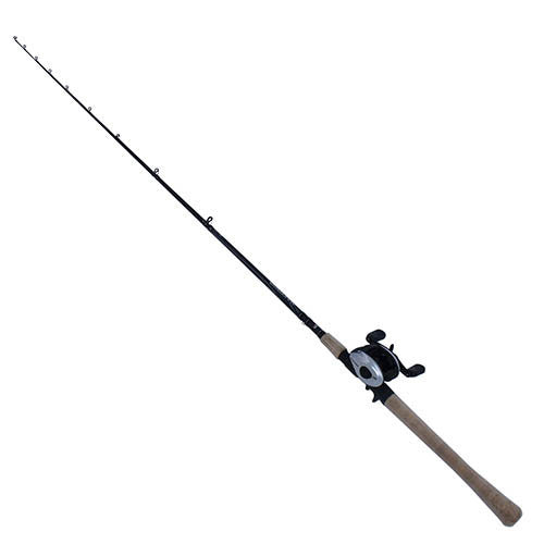 Abu Garcia Maxtoro Baitcast Combo 50, 5.3:1 Gear Ratio, 7' Length, 2pc Rod, 40-60 lb Line Rate Medium/Heavy Power
