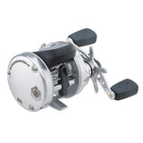 "Abu Garcia Ambassadeur s Line Counter Baitcast Round Reel 6500, 5.3:1 Gear Ratio, 3 Bearing, 25 1/2"" Retrieve Rate, Left Hand, Boxed"