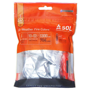 Adventure Medical SOL Series All-Weather Fire Cubes