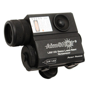 Aimshot LS8150 Compact Green Rifle Laser w/Mount/Cord