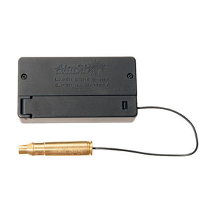 Aimshot 223 Remington Modular Laser Bore Sight with Standard and External Batteries