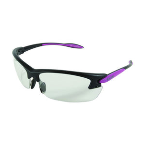 Allen Cases Electron Womens Ballistic Shooting Glasses Purple/Black