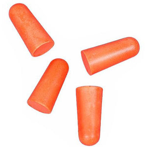 Allen Cases Foam Ear Plugs Silencer, NRR 32dB, Per 100