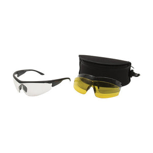 Allen Cases Ruger Concept Ballistic Shooting Glasses 3 Lens