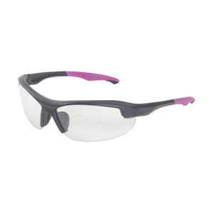 Allen Cases Ruger Core Ballistic Shooting Glasses, Women, Black/Orchid