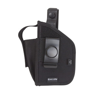 Allen Cases Ambidextrous Holster Medium Autos with Laser, Black