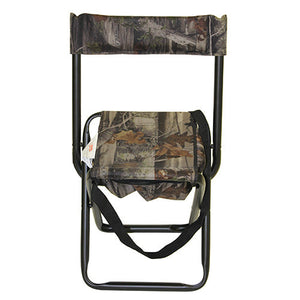 Allen Cases Camo Folding Stool w/Back Rest