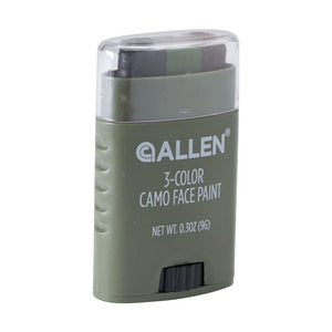 Allen Cases 3-Color Camo Face Paint Stick