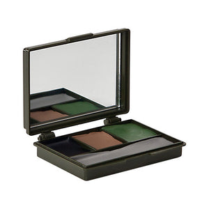 Allen Cases Camo Makeup Kit-Olive Drab, Black, Brown, Gray