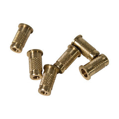 Allen Cases Crossbow Bolt Brass Inserts, 40 Grains, 6 Pack