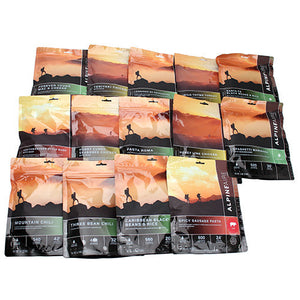 Alpine Aire Foods 7 Day Meal Kit (14 Pouches)