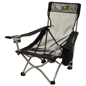 Alps Mountaineering Getaway Chair Mesh, w/Cooler Pocket, Black