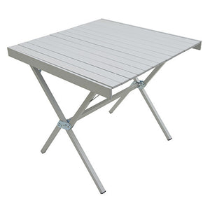 Alps Mountaineering Dining Table Square, Silver, 31x31x28