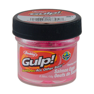 Berkley Floating Salmon Eggs Soft Bait Pink