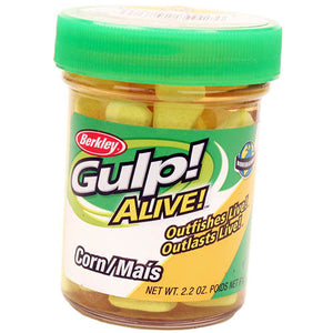 Berkley Gulp! Alive! Corn Soft Bait, Yellow
