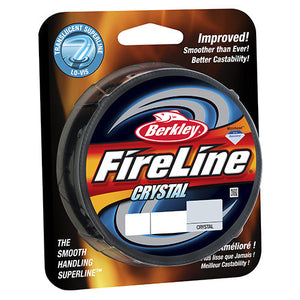 Berkley FireLine Fused  SuperLine Crystal Line Spool 1500 Yards, 0.008