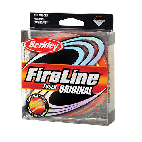 "Berkley FireLine Fused Original Line Spool 1500 Yards, 0.008"" Diameter, 10 lb Breaking Strength, Flame Green"