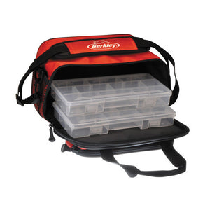 Berkley Tackle Bag Small. Red