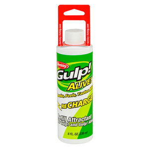 Berkley Gulp! Alive Recharge Liquid Attractant Natural Scent/Flavor, 8  oz Bottle