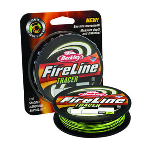 Berkley FireLine Fused Tracer Superline Line Spool 1500 Yards, 0.015