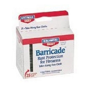 Birchwood Casey Barricade Rust Preventive 25 Take Along Packets