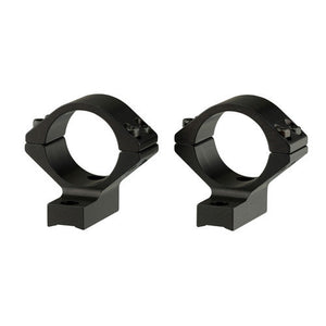 Browning AB3 Integrated Scope Mount System 30mm Ring Diameter, High Ring Height, Matte Black