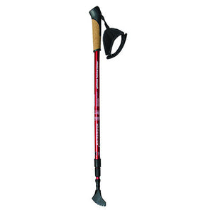 Chinook Adjustable Hiking/Skiing Pole Nordic Strider 3 Single