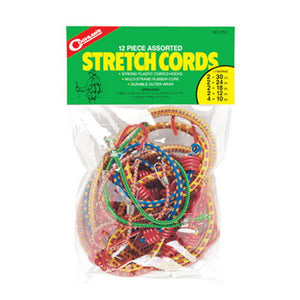 Coghlans Stretch Cord Assortment - Package of 12