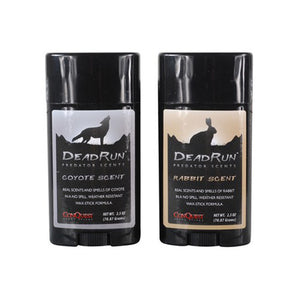 Conquest Scents Predator Scent Stick 1 Rabbit, 1 Coyote