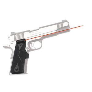 Crimson Trace 1911 Government/Commander Overmold Wrap, Front Activation, Clam Pack
