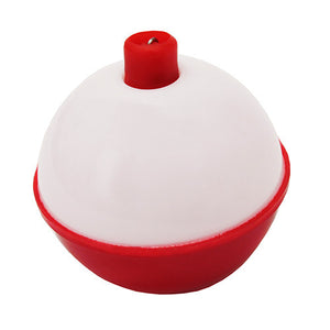 Eagle Claw Snap-On Round Floats, Red/White Size 1 1/2