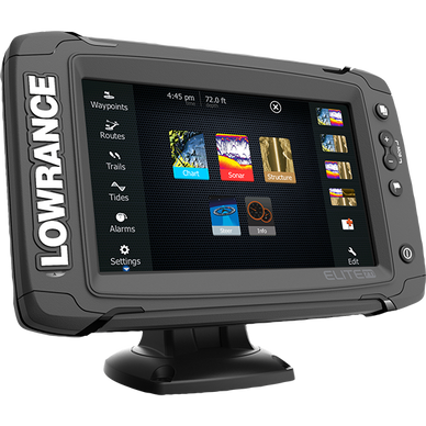 Lowrance ELITE-7 Ti Mid/High/Downscan Fishfinder