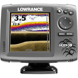 Lowrance Hook-5X Sonar Mid/High/Downscan Fishfinder