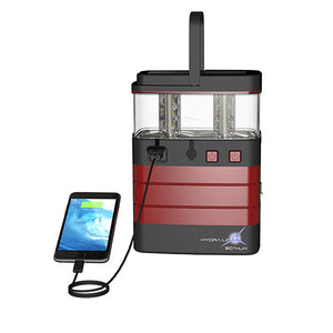Hydra Light Hybrid Supercell Lantern Burgundy