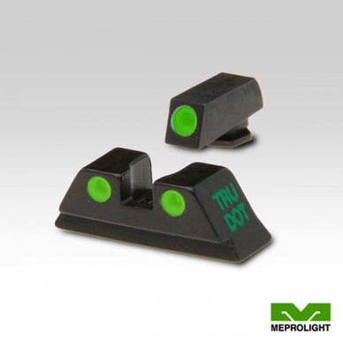 MAKO TRU-DOT NIGHT SIGHTS for GLOCK 10 MM & .45 ACP Green/Green
