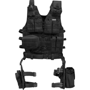 Loaded Gear VX-100 Tactical Vest & Leg Platform