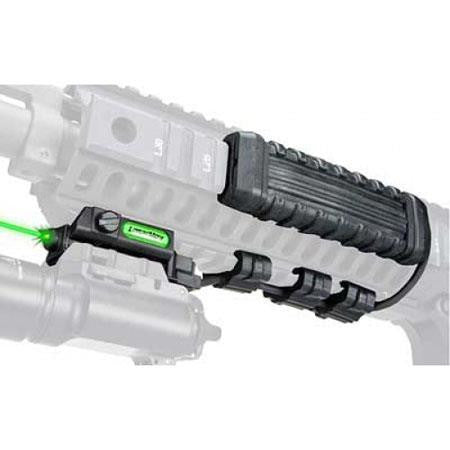 LaserMax Uni-Max Rail Mount Green Laser with Rifle Value Pack