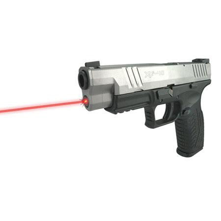 LaserMax Rod Mounted Red Laser for the Springfield XDM - Black