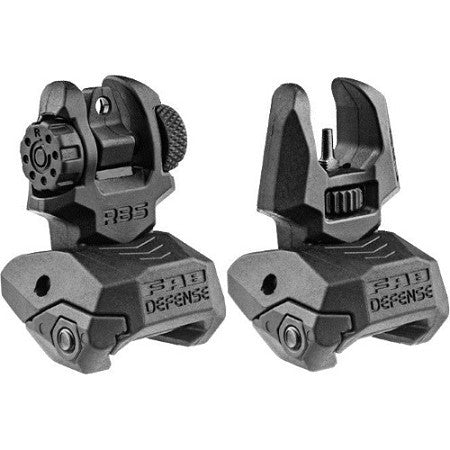 MAKO  Folding Back-up Sight Front and Rear