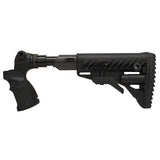 MAKO Recoil-Reducing Folding Collapsible Buttstock for Mossberg 500/590