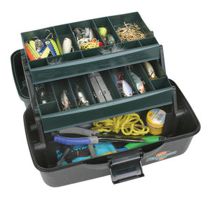 Flambeau 2 Tray Tackle Box     27Comp  1627B