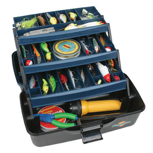 Flambeau 3 Tray Tackle Box     37Comp  1737B