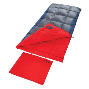 Coleman Heaton Peak 50 Rectangular Big and Tall Sleeping Bag