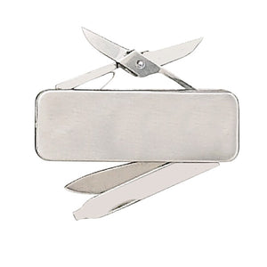 Fury Money Clip with Blade file and Scissors