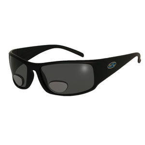BlueWater Black Polarized Grey Lens Bifocals 2.0 Sunglasses